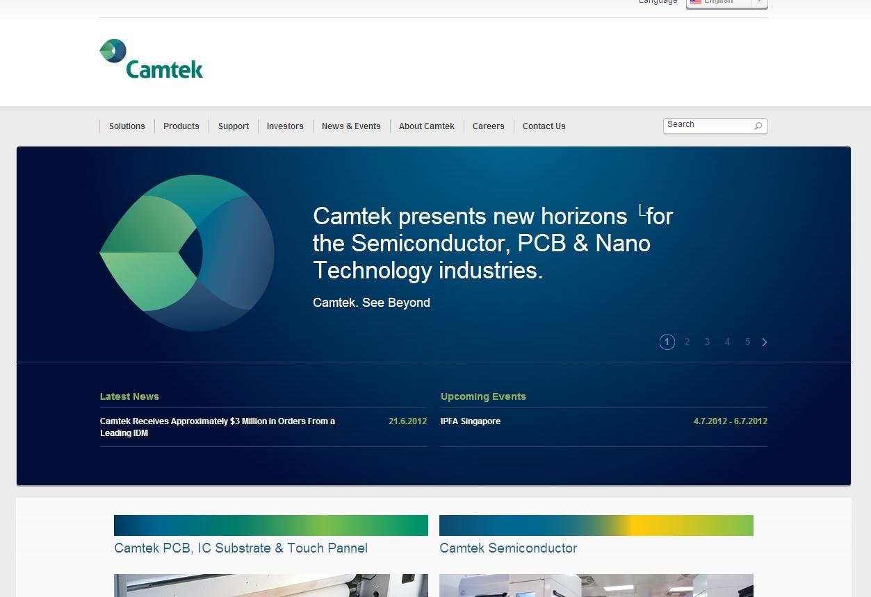 camtek homepage